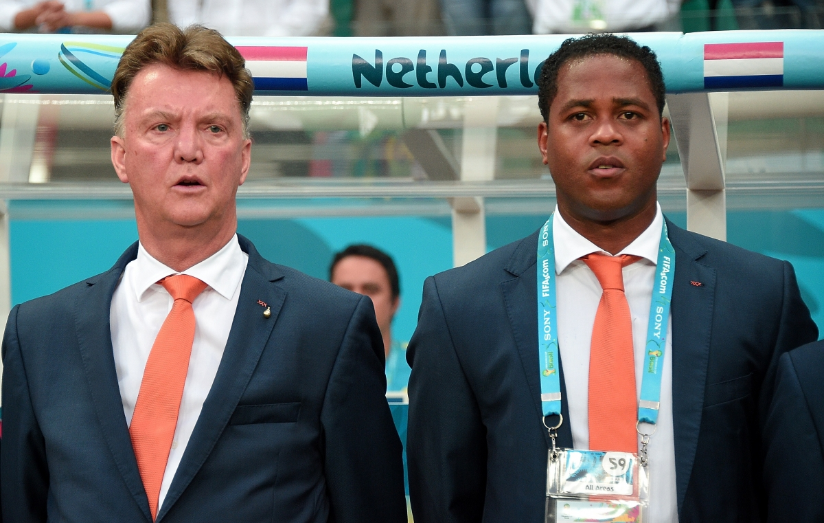 Louis van Gaal and Patrick Kluivert