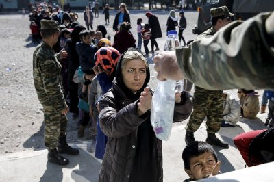 Refugees Greece
