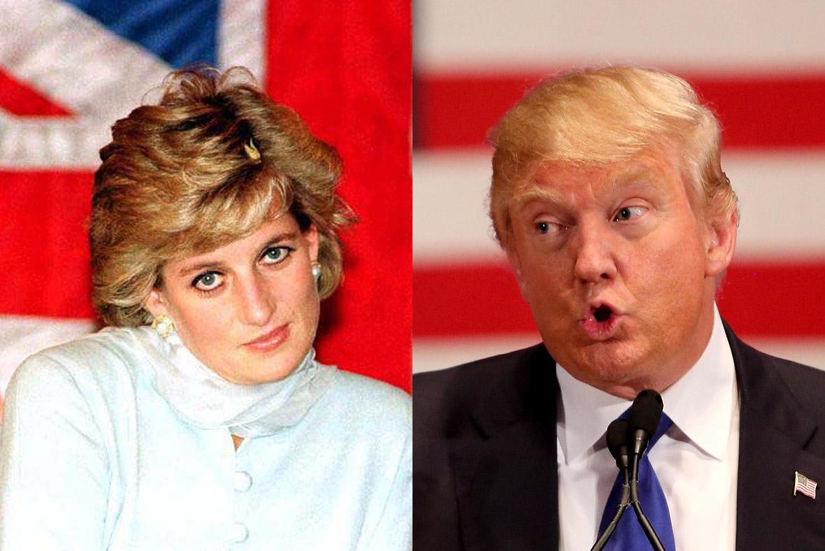 Princess Diana Donald Trump