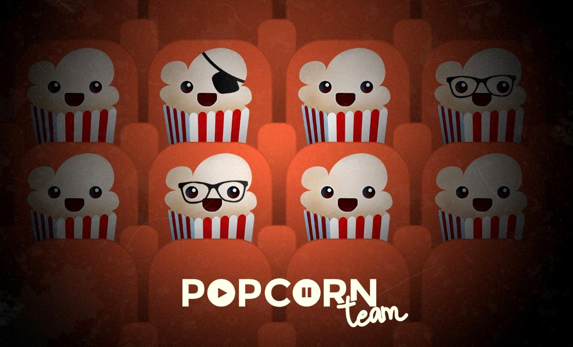 Popcorn Time mascots