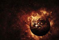 Universe exploding