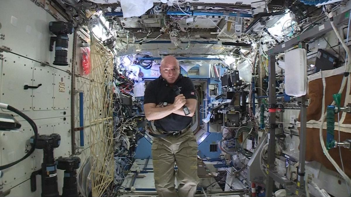 Scott Kelly on ISS