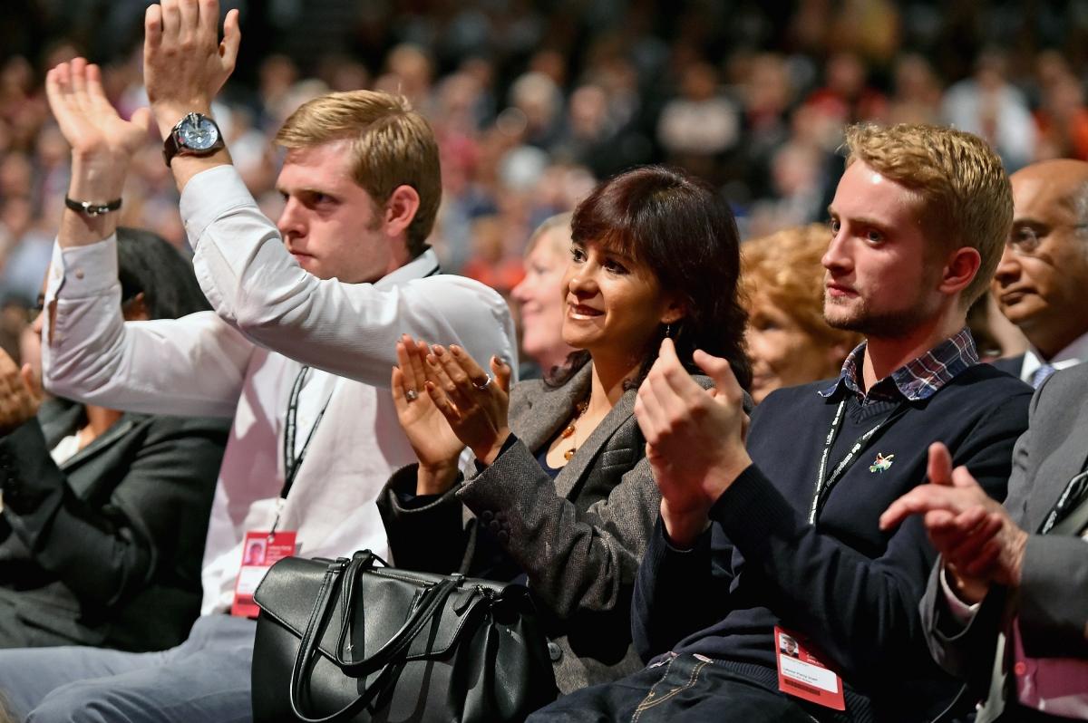 Tommy Corbyn Jeremy Labour party conference