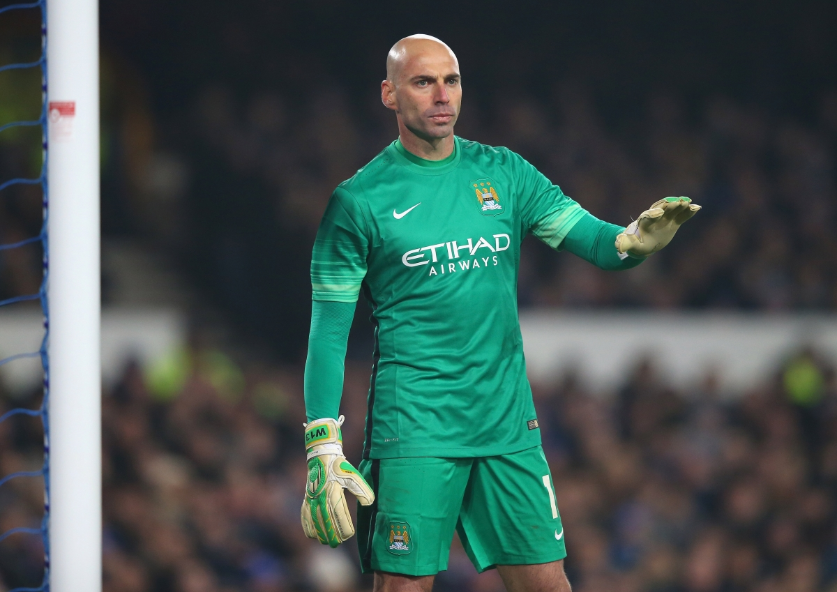 manchester city vs liverpool willy caballero eager to