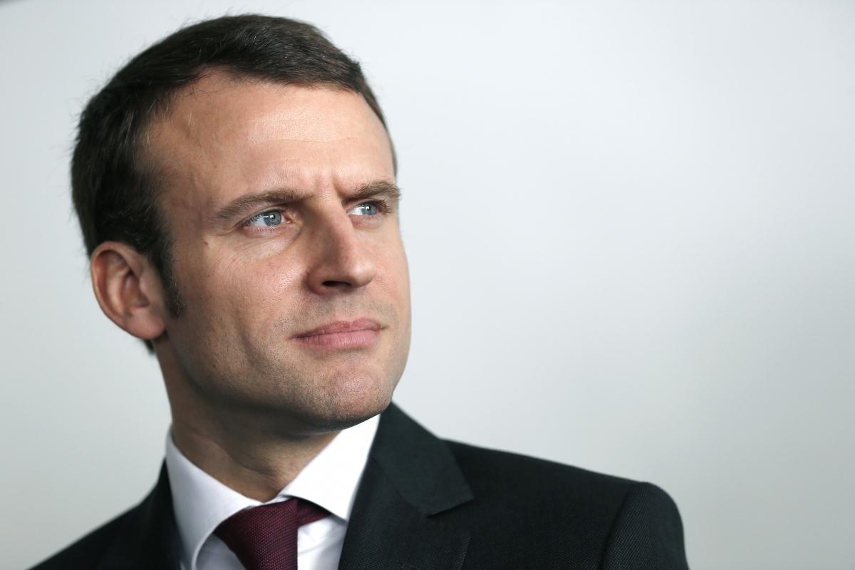 French economy minister Emmanuel Macron