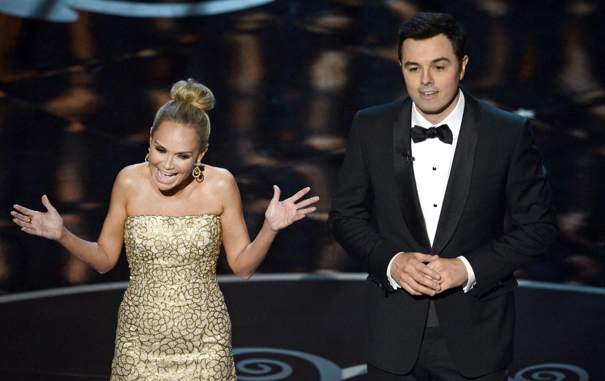 Seth Macfarlane hosting the Oscars