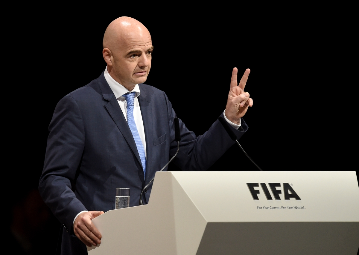 Gianni infantino elected new fifa president in zurich for How many times can a president be elected to office