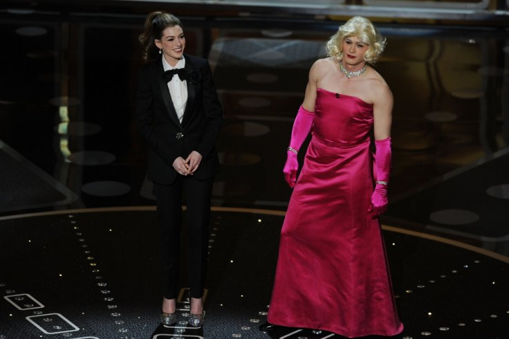 James Franco and Anne Hathaway hosting Oscars
