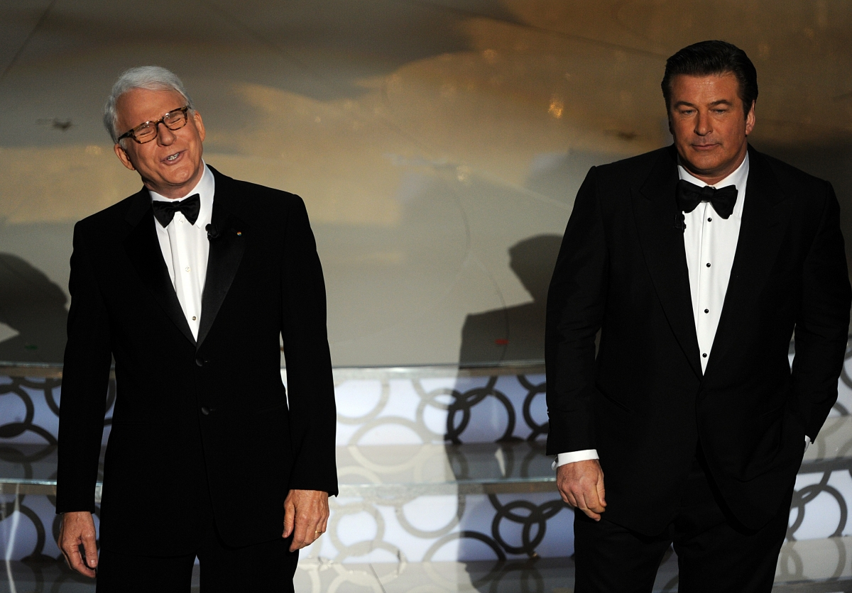 Steve Martin and Alec Baldwin hosting Oscars