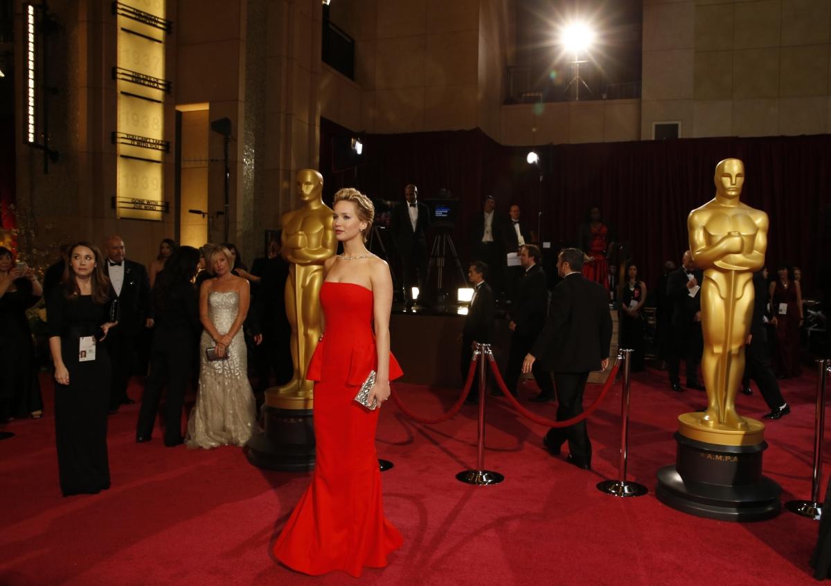 Jennifer Lawrence at Oscars