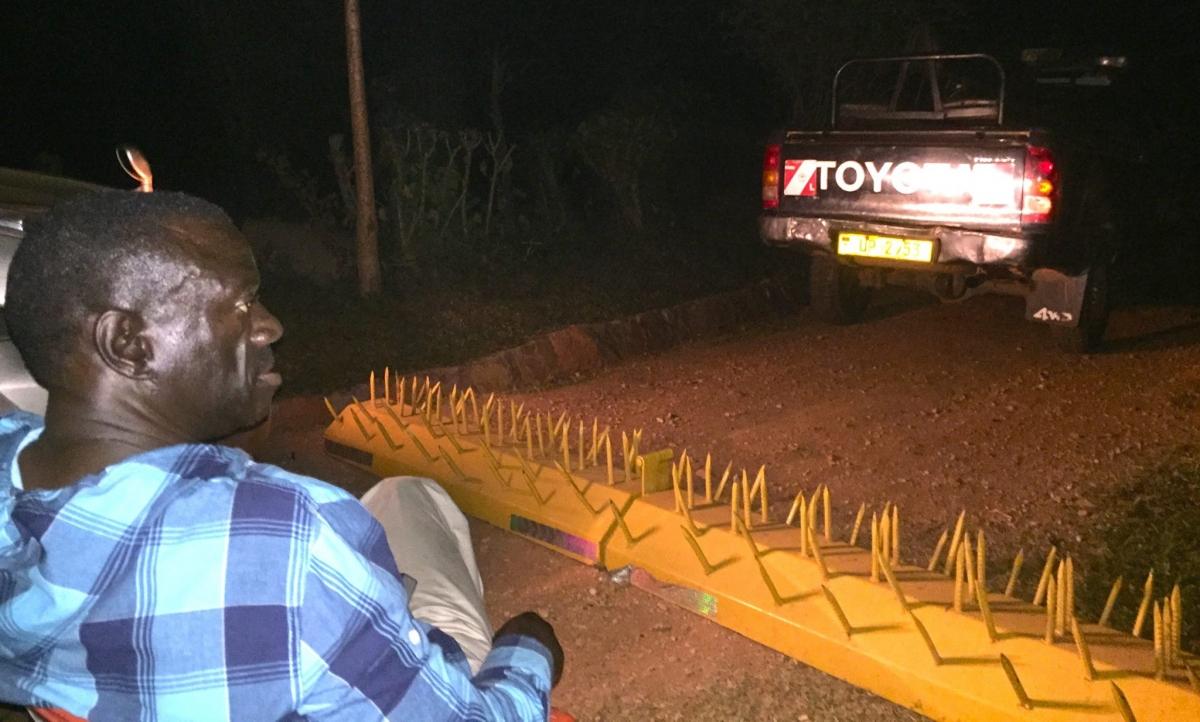 Uganda's opposition leader Kizza Besigye