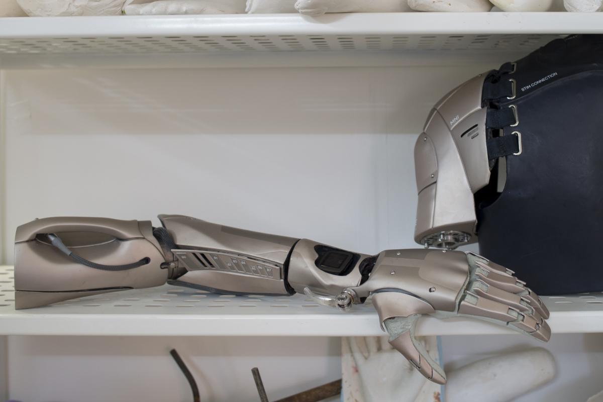 Bionic arm MGS 5