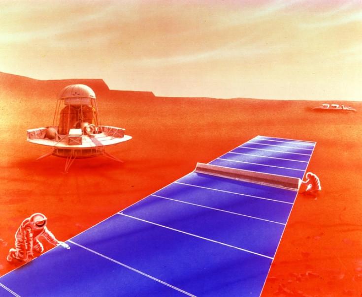 solar power on mars