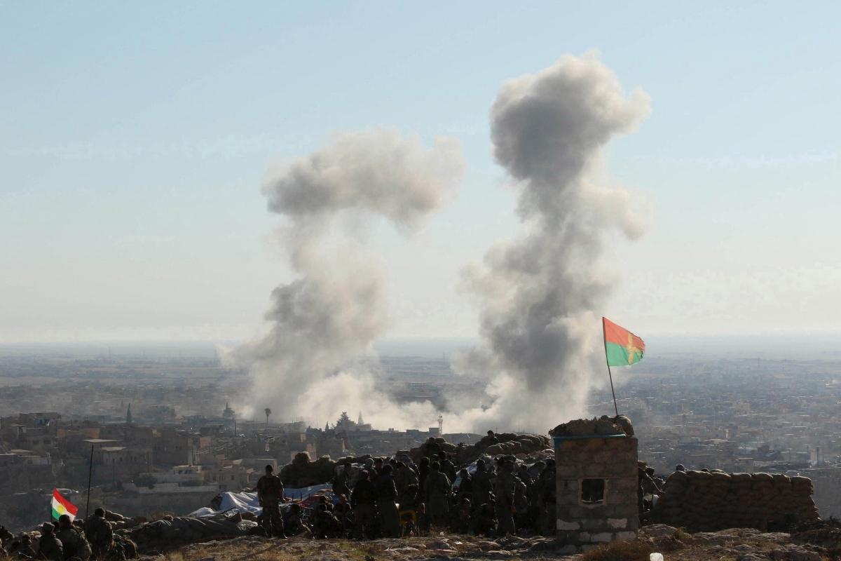 Sinjar isis chemical attack