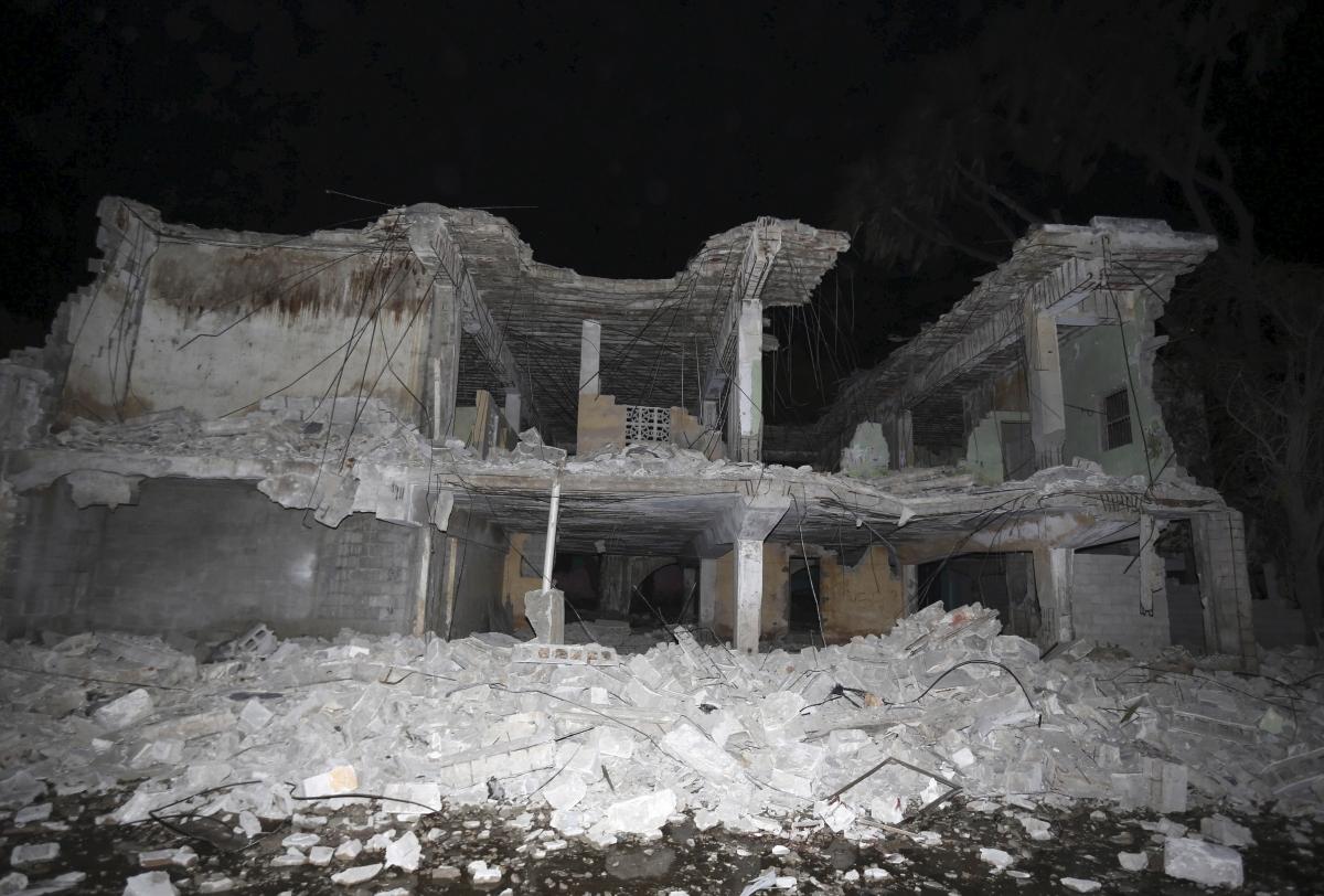 Somalia SYL hotel attack