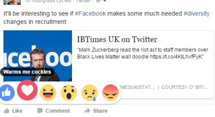 Facebook Reactions can get matey with you in Pirate speak