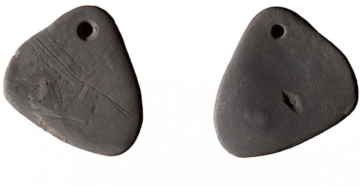 Mesolithic pendant found in Britain