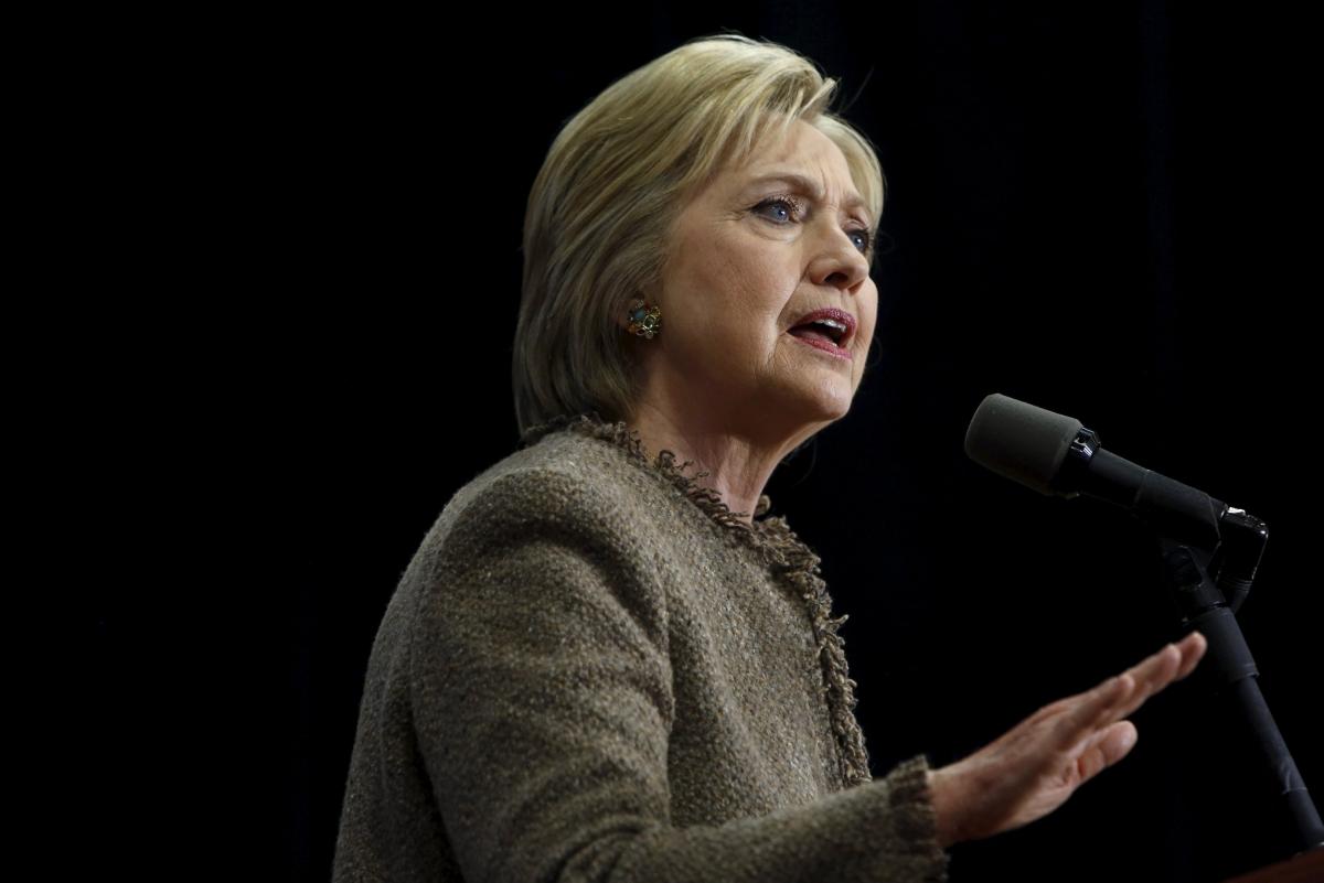 Hillary Clinton attacks Republican party
