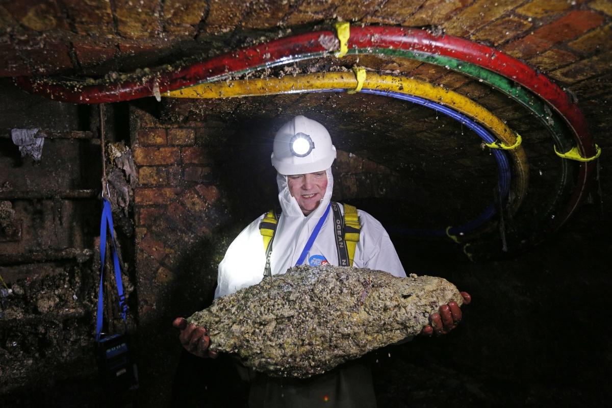 One Tonne Fatberg Blocks Australian Sewage System With