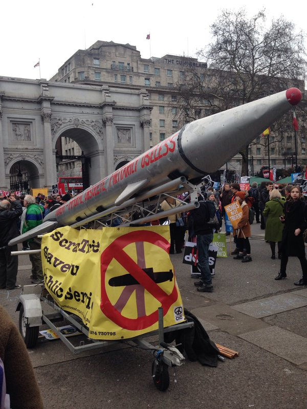 Anti-Trident rally in London