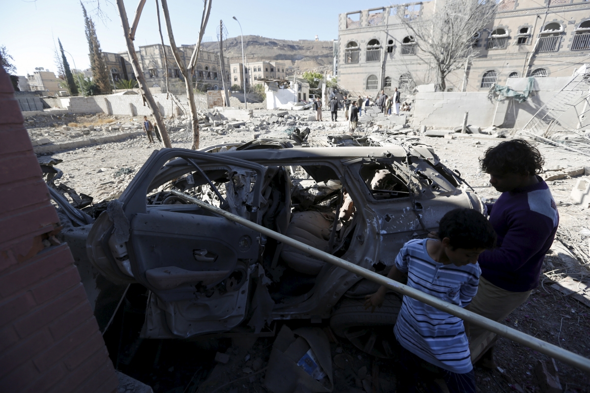 Yemen market bombing