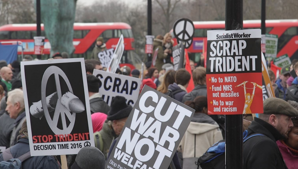 CND London demonstration