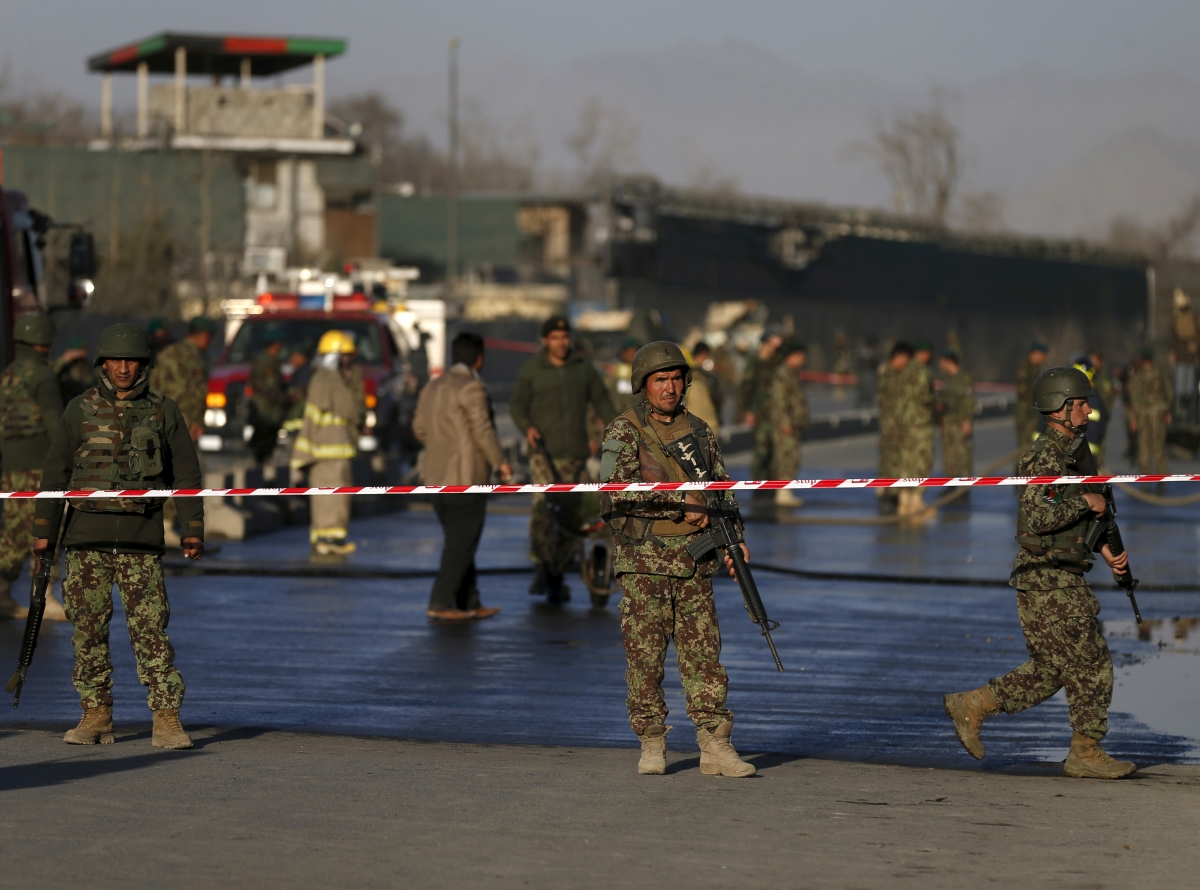 Taliban suicide bomber in Kabul