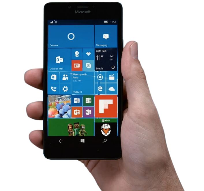Microsoft releases Lumia 950 and 950 XL firmware version