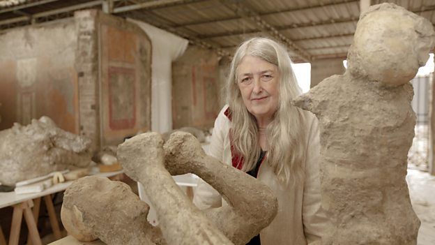 Professor Mary Beard presents BBC documentary Pompeii: Life Before Death