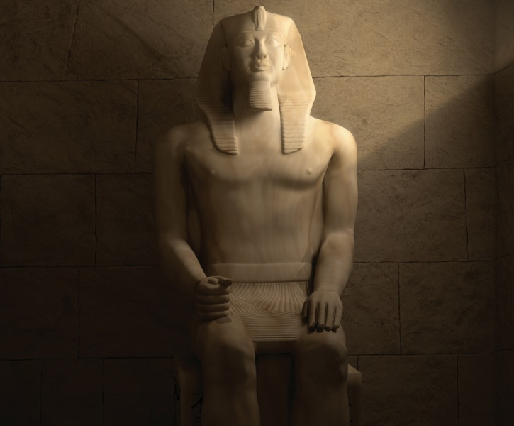 3D recreations of ancient Egypt