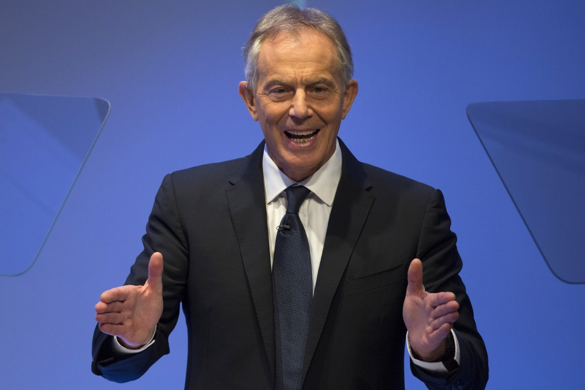 EU Referendum: Tony Blair says remain campaign doing 'reasonably well'