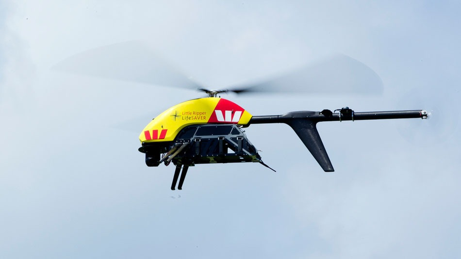 Westpac drone