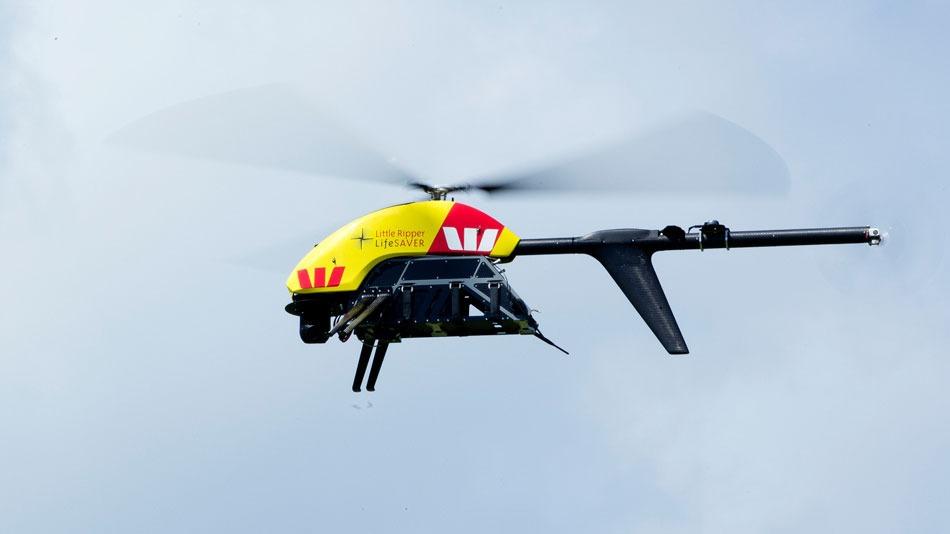Westpac drone