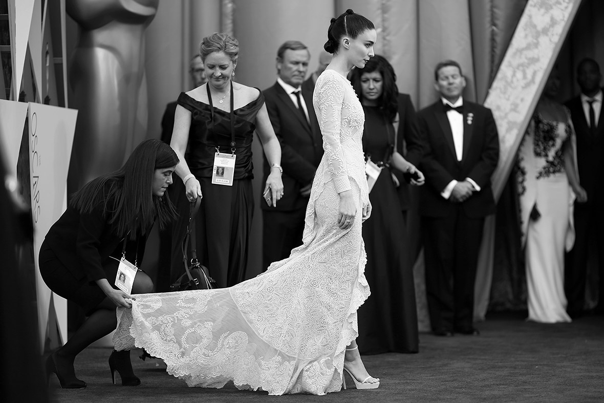 Oscars 2016 backstage