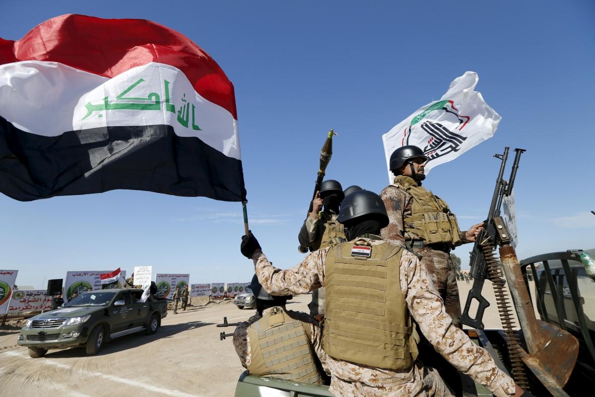 Iraqi Sunni Muslim fighters
