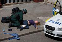 London emergency services training