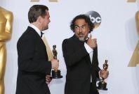 Leonardo DiCaprio and Alejandro Iñárritu