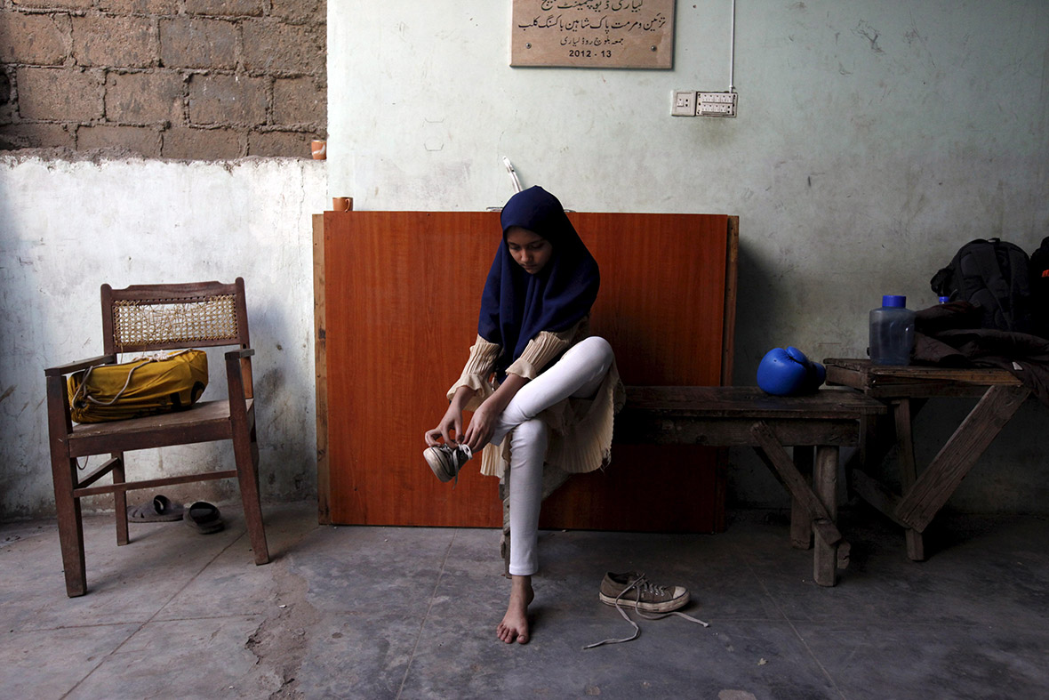 Pakistan womens boxing