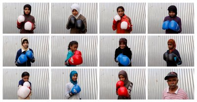 Pakistan womens boxing