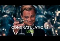 Leonardo\'s oscar speech