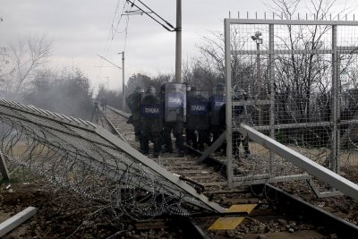 Greece Macedonia border