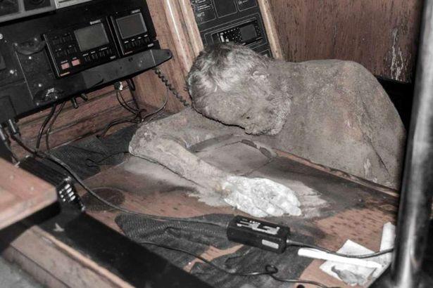 mummified German