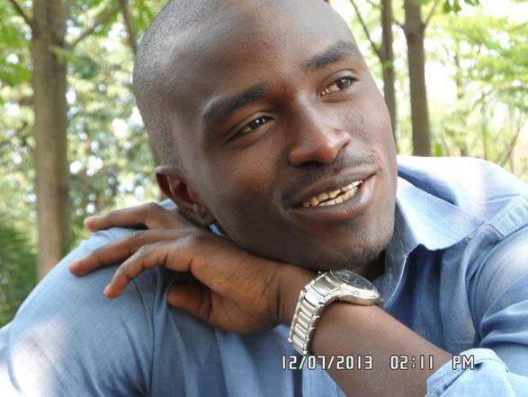 DRC political activist Fred Bauma