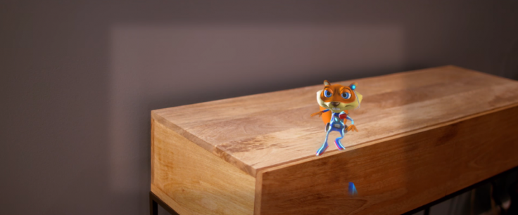 Young Conker Rare HoloLens Game