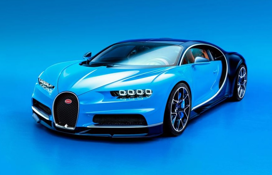 This Is The Bugatti Chiron, The 261mph Car To Replace The Veyron Bugatti