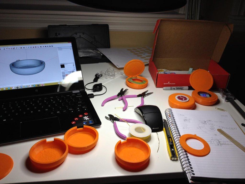 Cyrcle Phone Prototypes