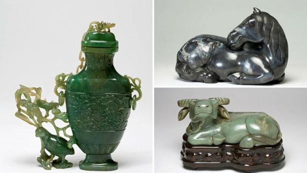 Chinese jade ornaments