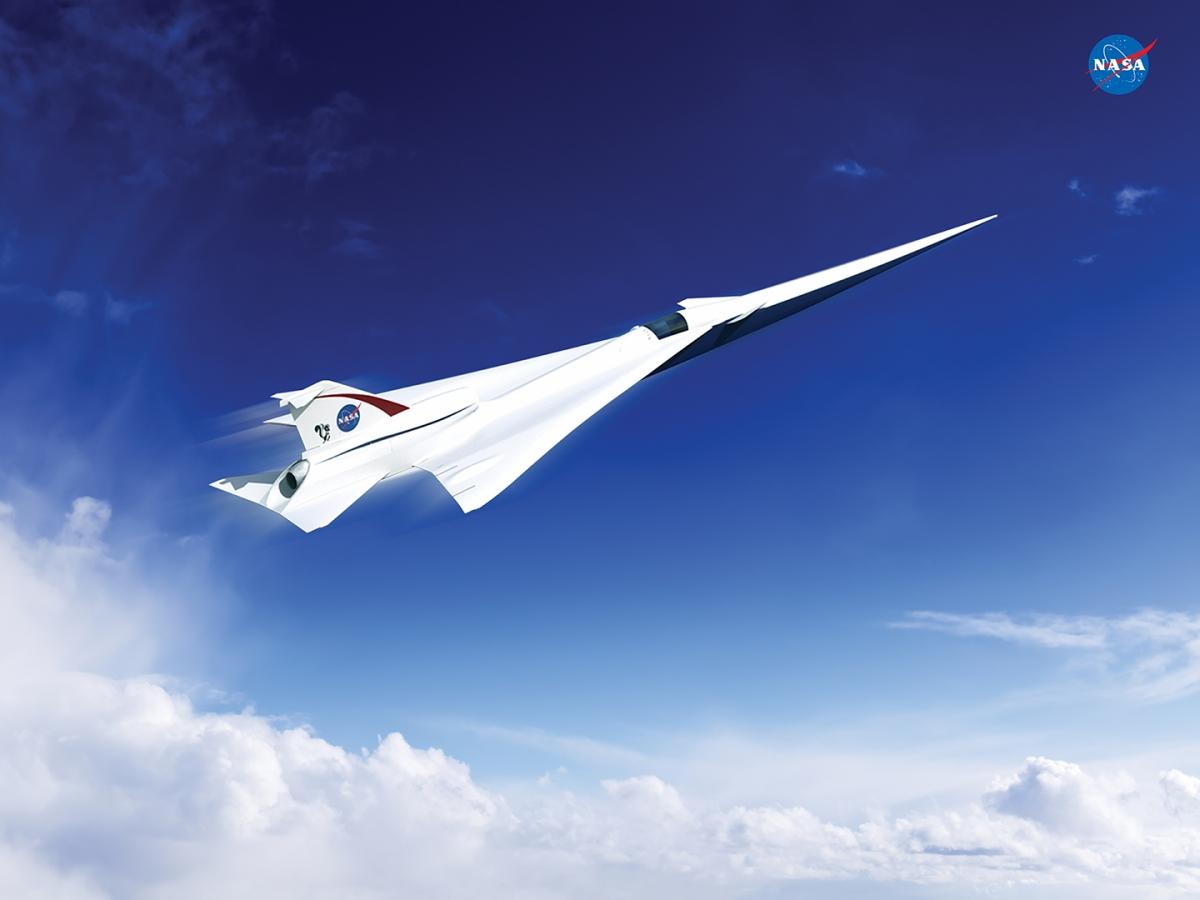 Nasa supersonic passenger jet