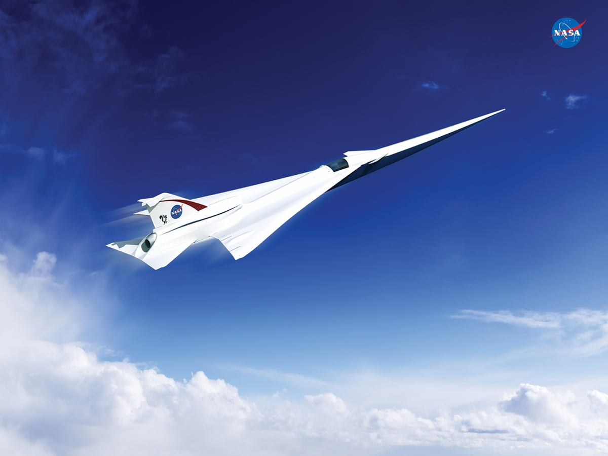 Nasa supersonic passenger jet