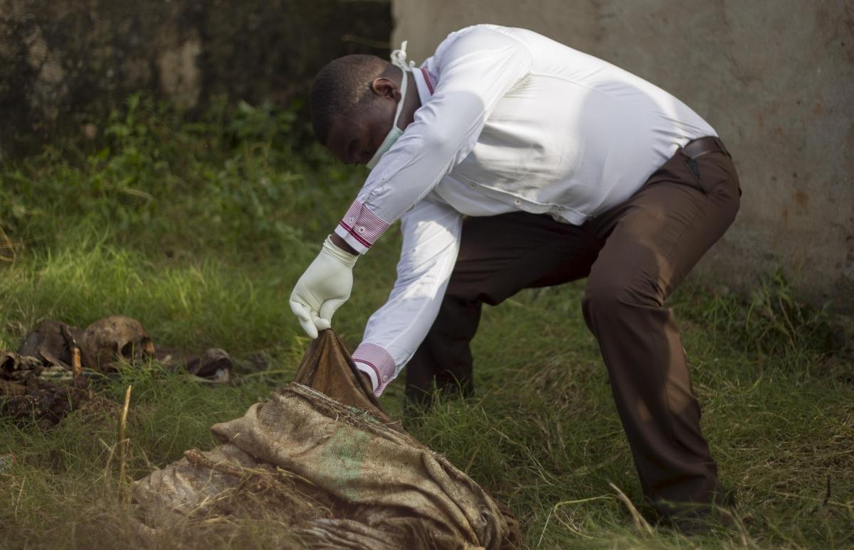 Burundi mass grave